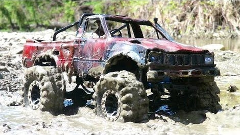 The Indestructible Toyota Hilux Is Pretty Good At Destroying