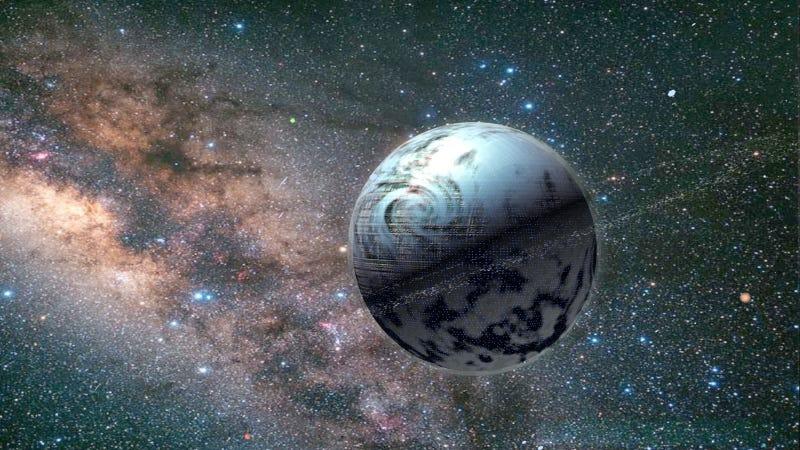 Artist's impression of a Dyson Sphere. (Image: Slawek Wojtowicz).