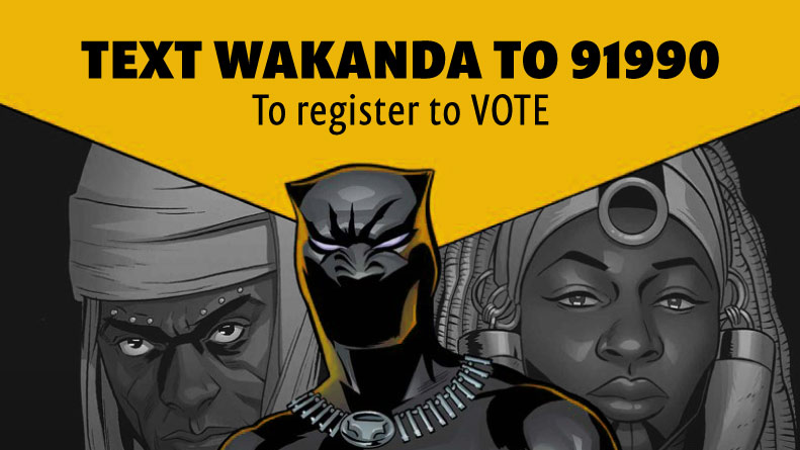 qlyz0p43dtc4armyllme - These Activists Are Registering Voters At Black Panther Showings