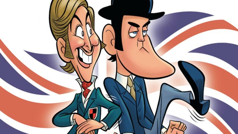 Illustration for article titled John Cleese and Eric Idle are going on a U.S. tour