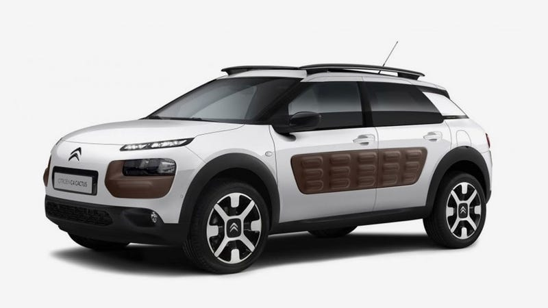 Illustration for article titled Weird New Citroën C4 Cactus Has Air-Filled Shock-Absorbing Body Panels