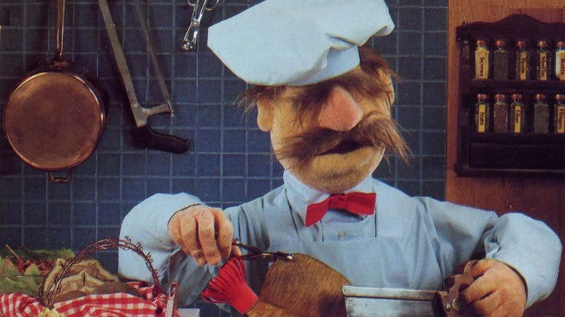 The Swedish chef from The Muppets.