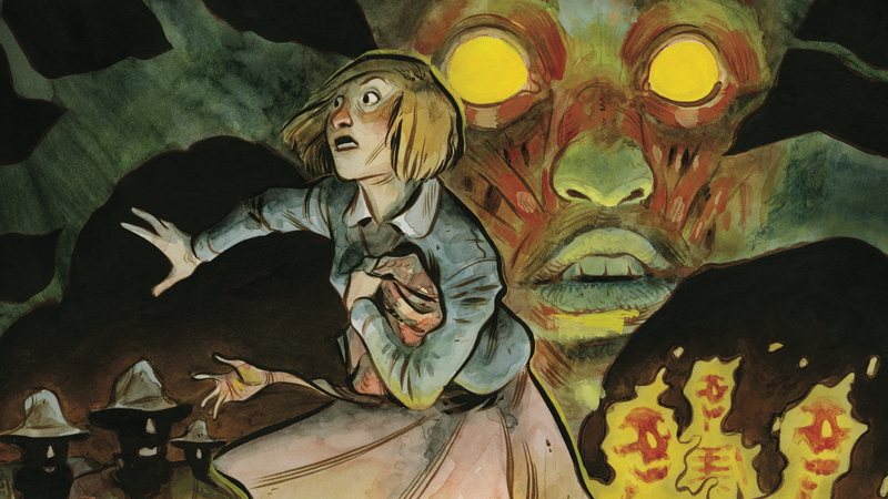 Illustration for article titled Read the Entirety of Harrow County #1, One of 2015's Best Horror Comics, Here for Free!