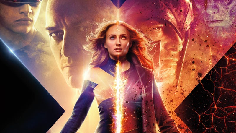 Illustration for article titled Dark Phoenix is having the worst opening of any X-Men movie, ever