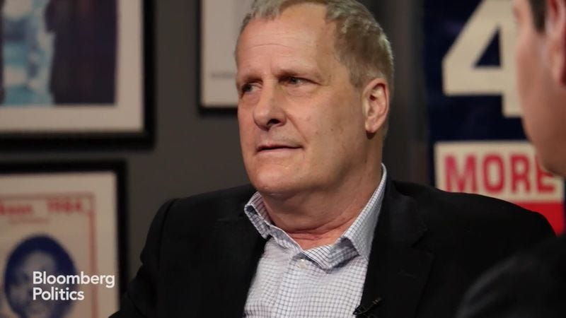 Illustration for article titled Jeff Daniels pretty much reprises his Newsroom role to talk Trump