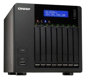 Illustration for article titled QNAP SS-839 Pro Turbo NAS Shrinks Mega RAID to Notebook Sizes