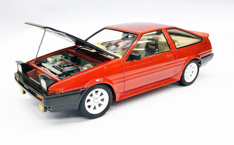 Illustration for article titled My 1/24 Toyota Ae86 Model Kit