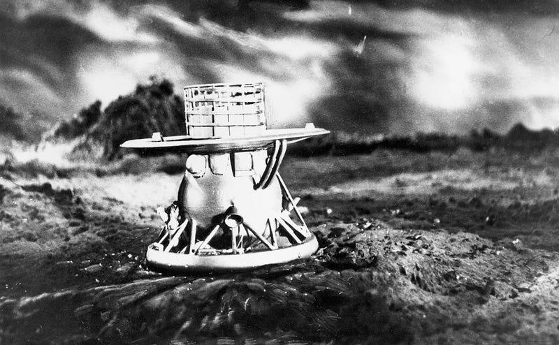 Réplica de la sonda Venera 9.