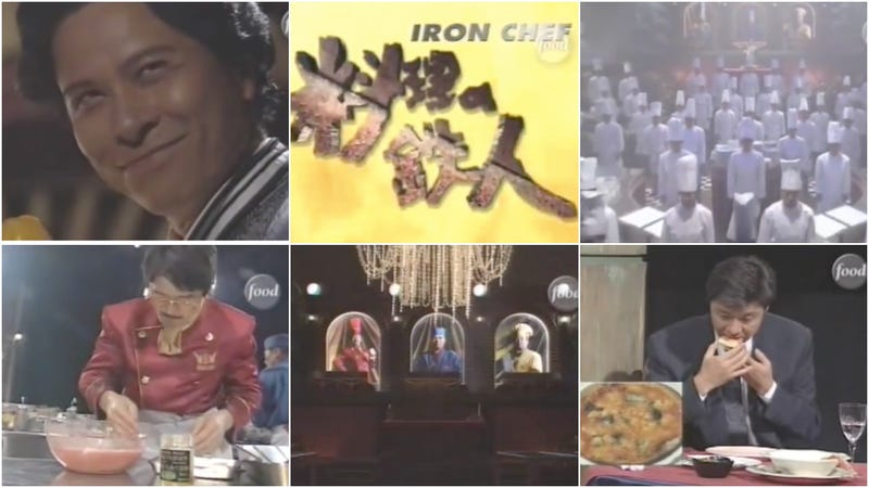 Illustration for article titled Last Call: Binge on the original Japanese Iron Chef this weekend