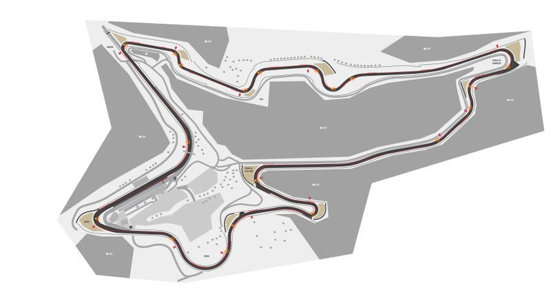 Illustration for article titled All that cash to come up with a street circuit in Azerbaijan...