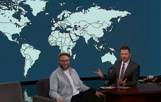 Seth Rogen, Jimmy Kimmel