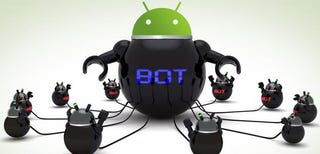 Illustration for article titled Android Botnet Stealing Banking Credentials