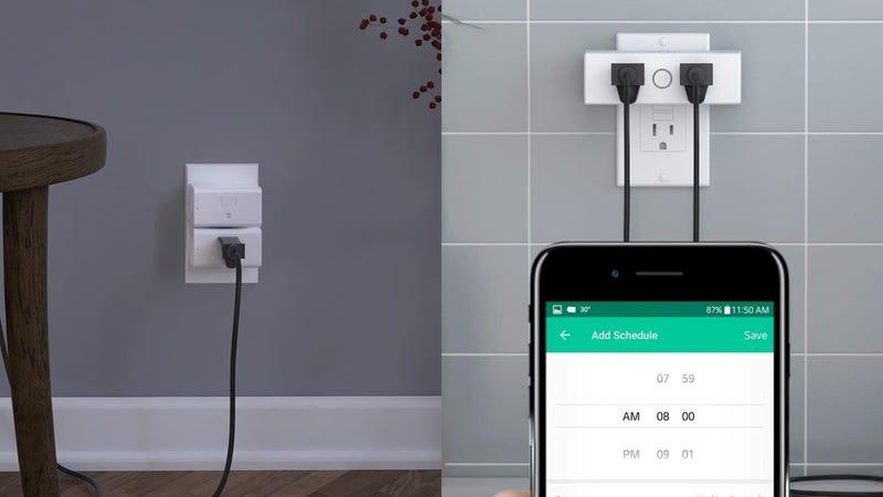 Two-Pack Aukey Smart Plugs | $22 | Amazon | Promo code AUKEYPP1Aukey Dual Smart Plug | $20 | Amazon | Promo code AUKEYPP3