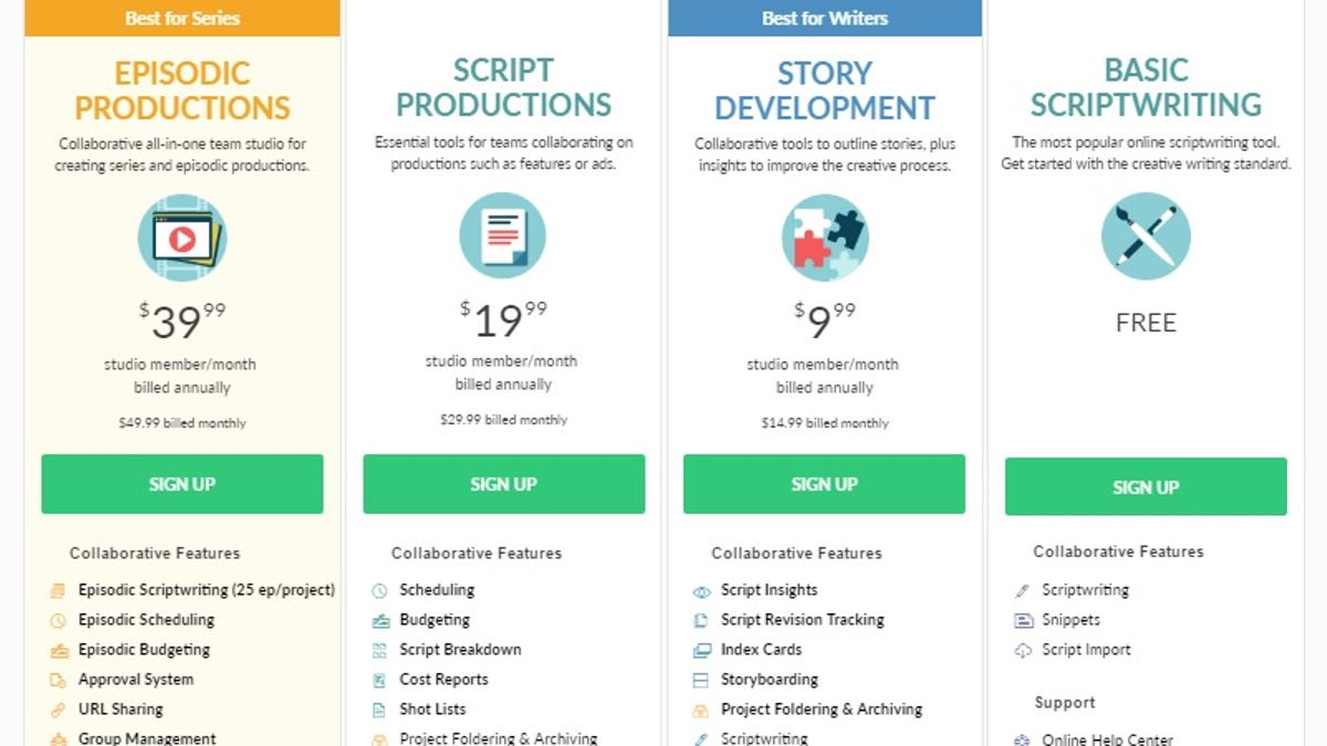 Screenwriting Software Showdown: Final Draft vs  Celtx