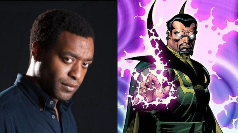 Illustration for article titled Chiwetel Ejiofor will play Baron Mordo in Doctor Strange