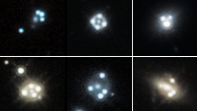 Has Hubble Detected Rogue Clumps of Dark Matter?