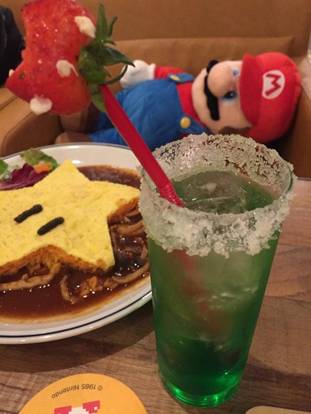 Visiting Tokyo's Super Mario Cafes