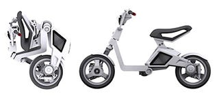 Illustration for article titled MIT Designs Electro-Scooter That Folds Up into Tiny, Wheeled Package