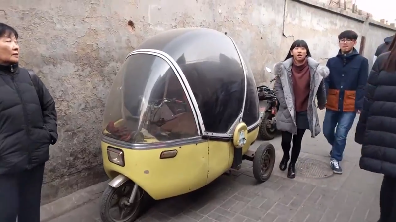 Illustration for article titled ID this weird Chinese microcar?