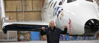 Illustration for article titled Virgin Galactic SpaceshipTwo: First Photos
