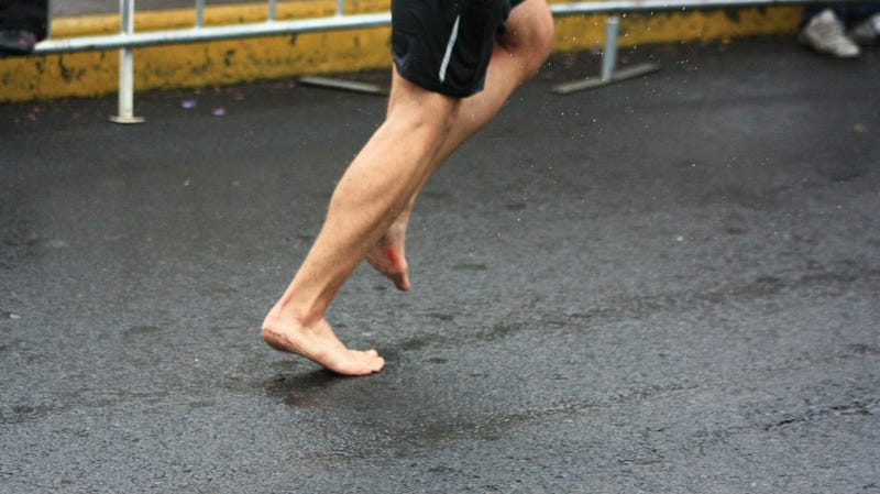 We've written about the benefits of running barefoot or with minimal footwear before, but if you're ready to get rid of your running shoes, make sure you ...