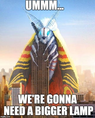 Illustration for article titled Made One More Mothra Meme