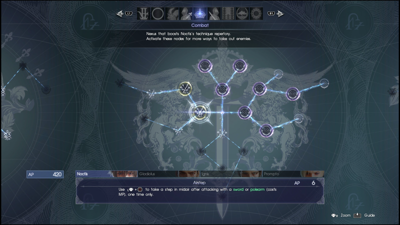 Final Fantasy XV's User Interface Is So Bad