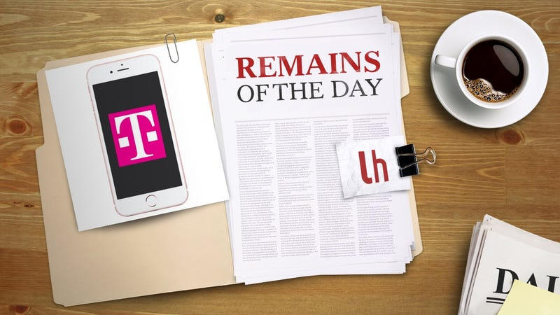 Illustration for article titled Remains of the Day: T-Mobile Warns Customers Not to Install iOS 10 Yet