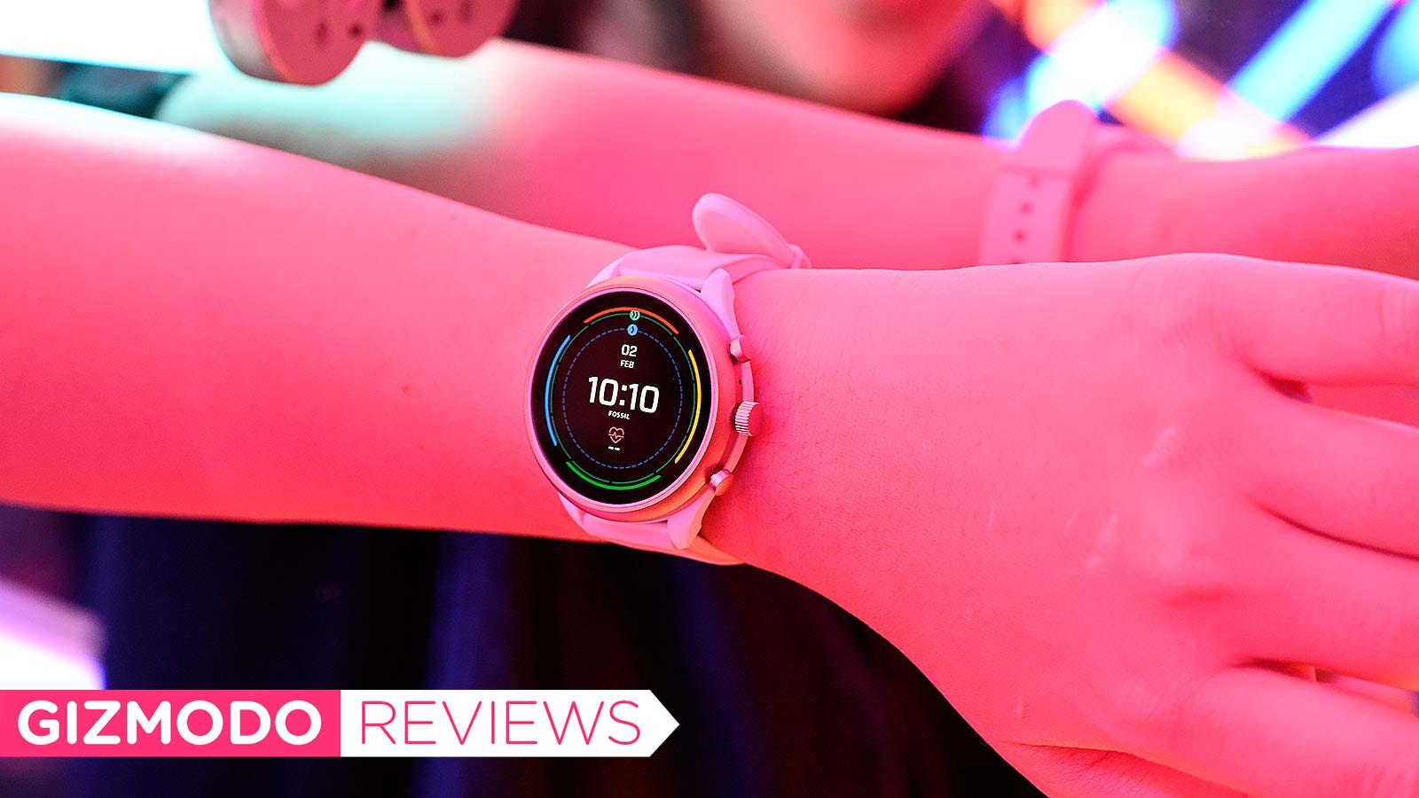 QnA VBage Fossil's New Wear OS Watch Isn't Trash, and That's Huge