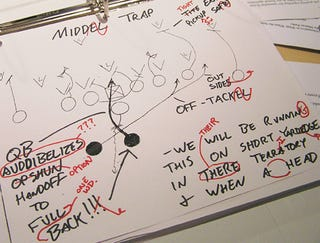 Illustration for article titled Stolen Auburn Playbook Returned With Spelling, Grammar Corrected