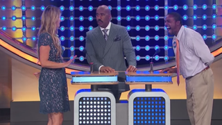 Scene from Family Feud            YouTube Screenshot