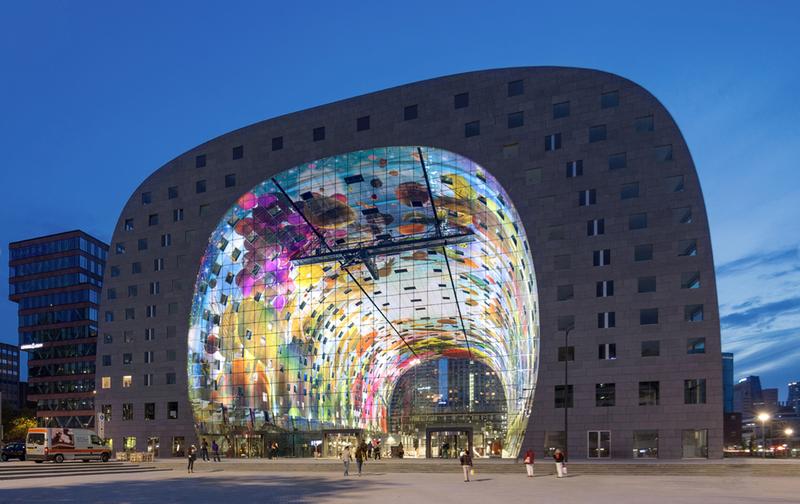 Este colosal mercado en Holanda es como una Capilla Sixtina moderna