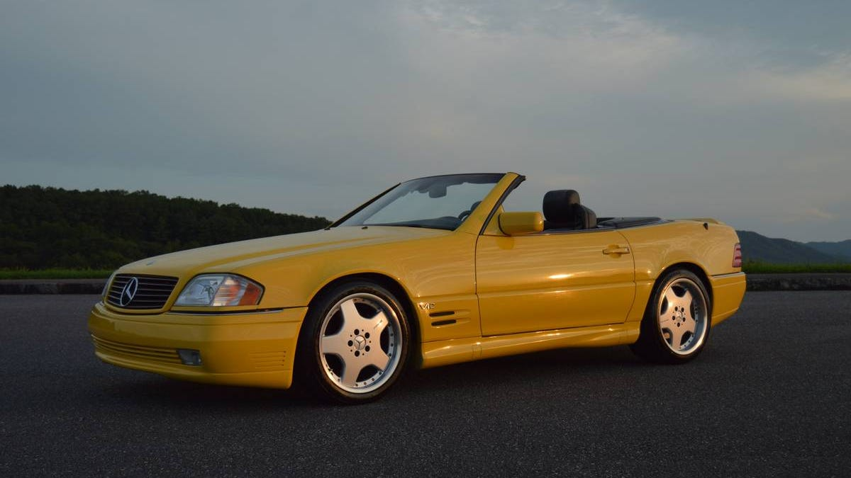 Would You Pay $24,900 for This 1998 Mercedes SL600, or Are
