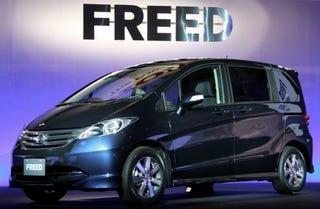 Illustration for article titled Honda Freed, A Fit Mini-Minivan