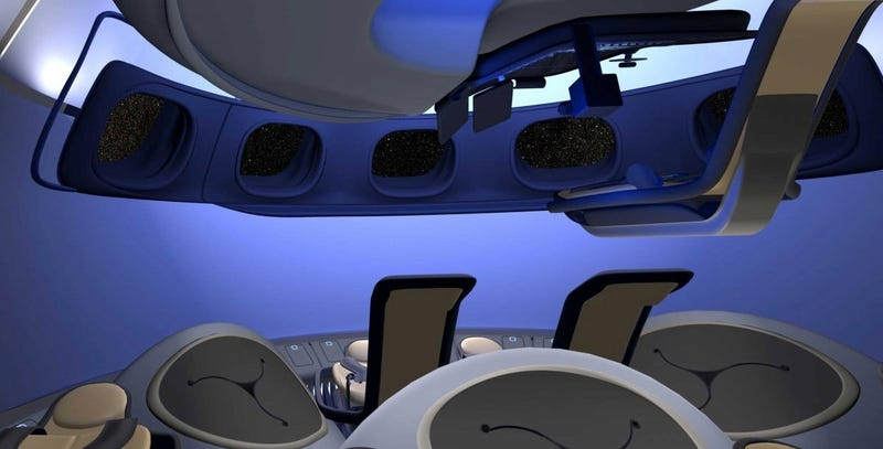 Illustration for article titled Inside the Boeing Capsule That Could Take You on a Space Vacation