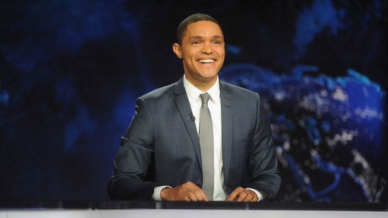 Illustration for article titled Trevor Noah undergoes emergency surgery, temporarily halting fake-news cycle