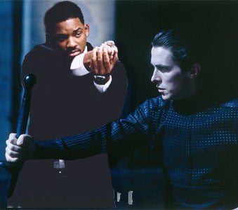 Illustration for article titled Christian Bale Vs. Will Smith! To The Death! Almost!