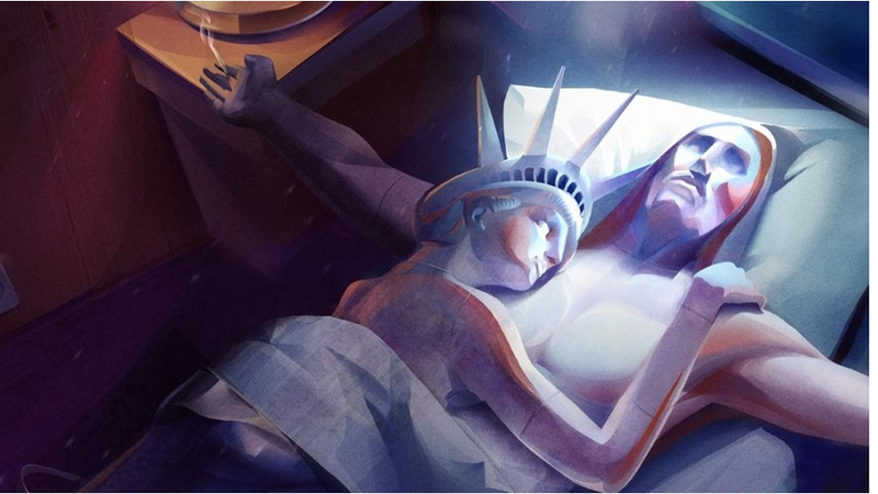 Illustration for article titled Christ the Redeemer Gets Freaky With the Statue of Liberty
