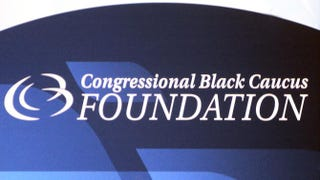 Signage at the Congressional Black Caucus Foundation 44th Annual Legislative Conference at the Washington Convention Center Sept. 24, 2014, in Washington, D.C.Nicole L. Cvetnic/The Root