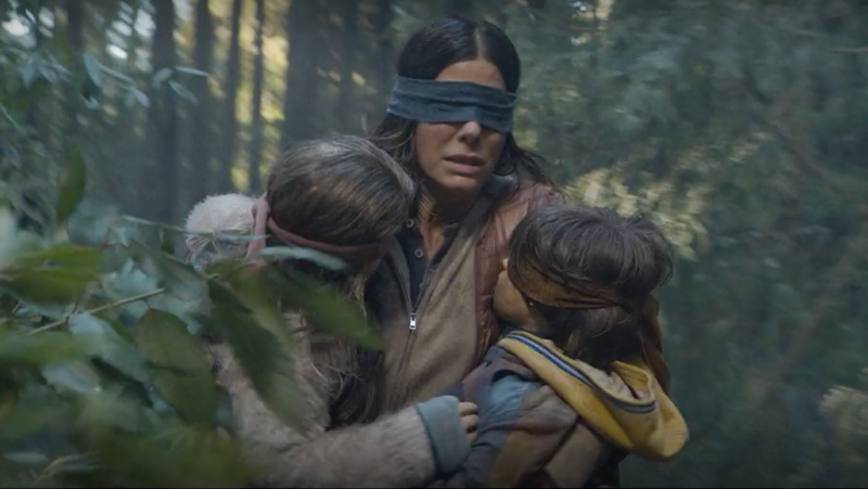 Illustration for article titled Netflix's Bird Box Is Really About How White People Don't Want to See Racism