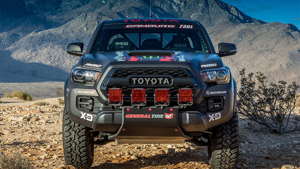 Here S How Badly The Toyota Tacoma Trd Pro Wants To Be Taken Seriously