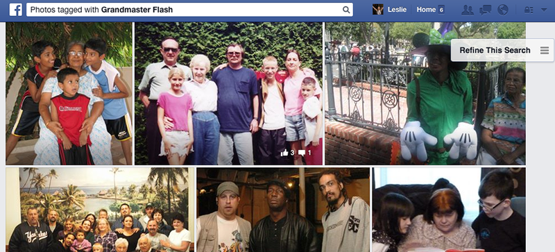 Illustration for article titled Grandmas on Facebook Are Tagging Themselves Grandmaster Flash