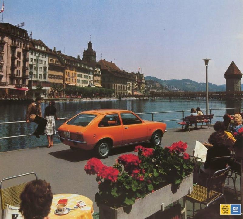 Illustration for article titled Vintage Opel Ads