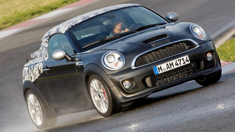 Ilration For Article Led The Cooper Coupe Is Mini Two Seater We 39
