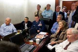 Illustration for article titled What Hillary Clinton Was Thinking In Famous Situation Room Photo