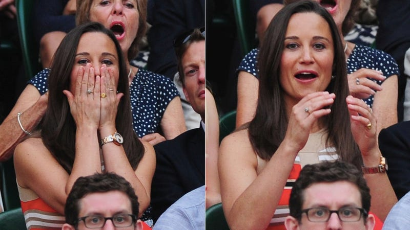 Illustration for article titled Witness The Stages of Pippa Middleton's Tennis Face