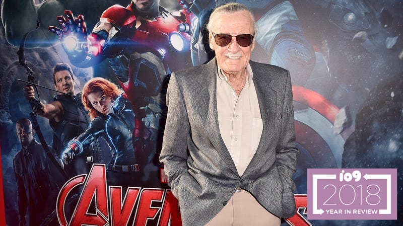 Stan Lee attends the Hollywood premiere of Marvel's Avengers: Age Of Ultron in 2015.