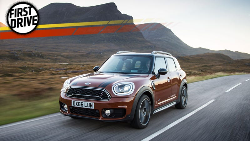 The 2017 Mini Countryman Is Your Large For Life