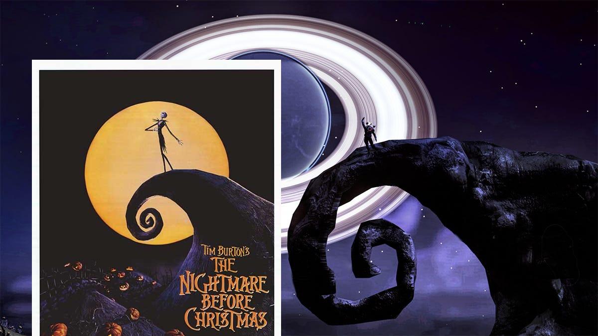 No Man\'s Sky Player Recreates The Nightmare Before Christmas