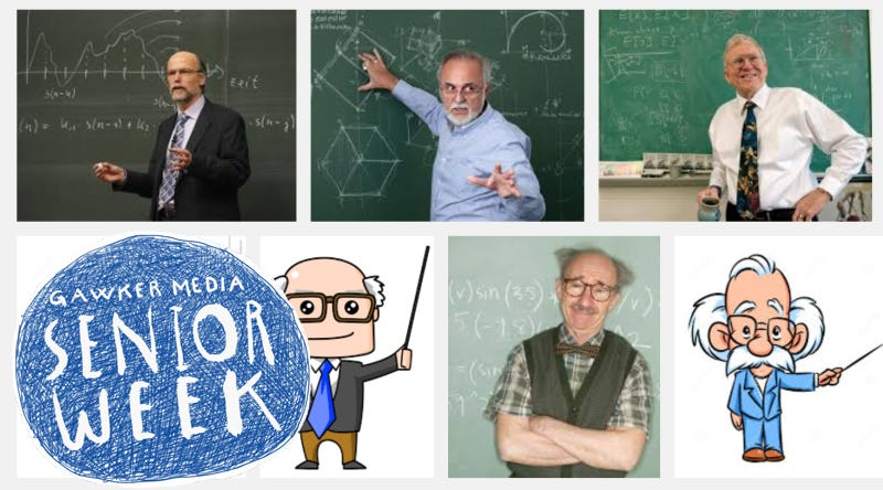Some serious academics, according to Google Image Search.